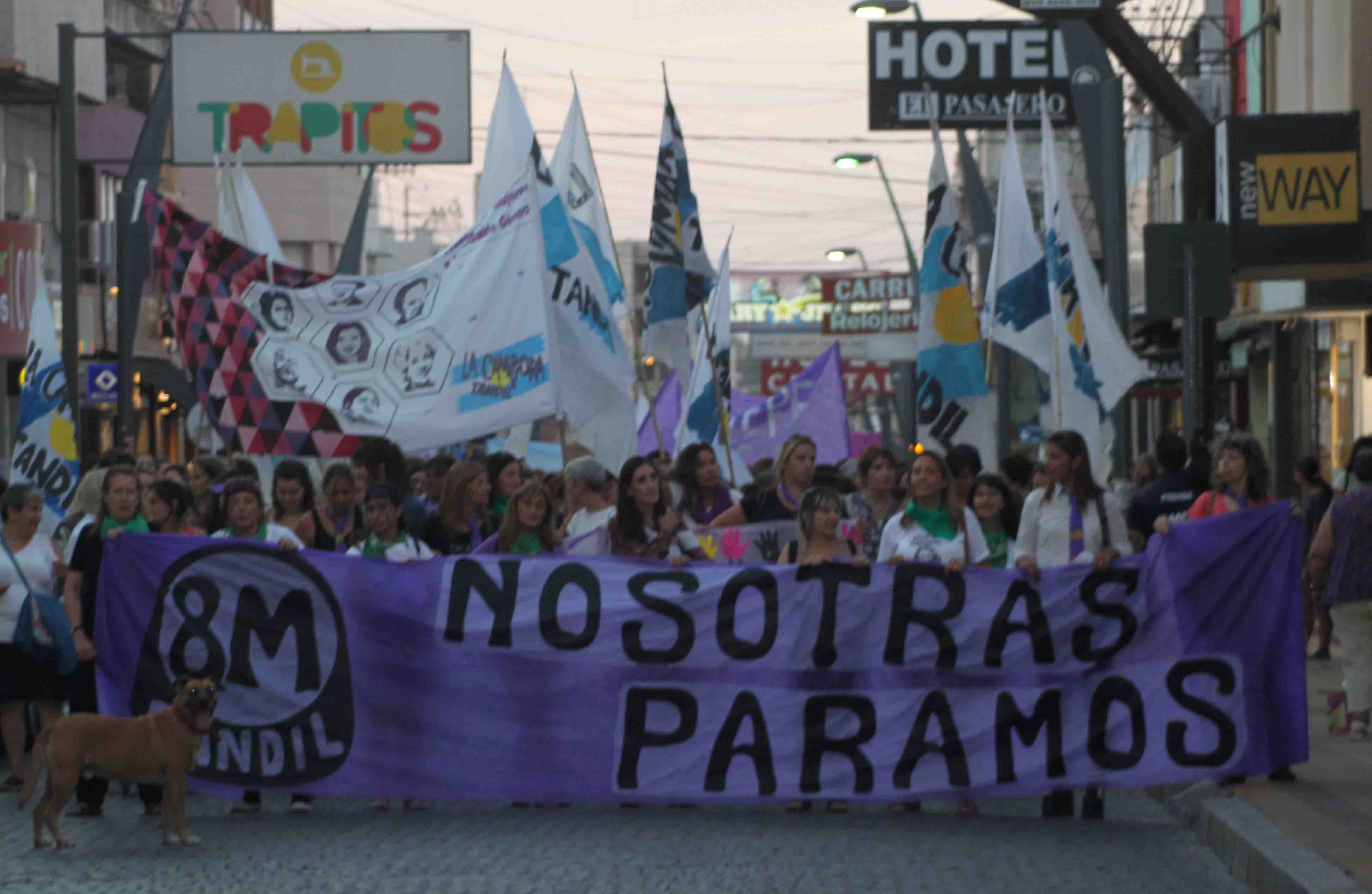 marcha,8m,paro,mujeres,tandil
